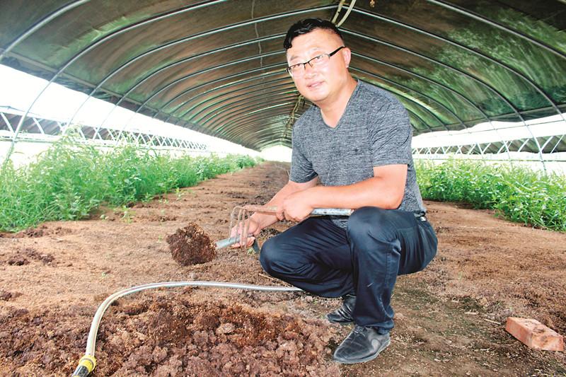 蒋垛:用小蚯蚓做大生态农业文章