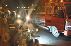 为有效应对臭氧污染 西安市夜查移动源排气污染