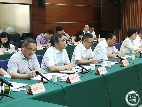 2019年8月安庆市代表团与南通市开展座谈