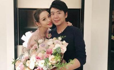 郎朗为吉娜庆25岁生日 送大捧鲜花:老婆开心我也开心
