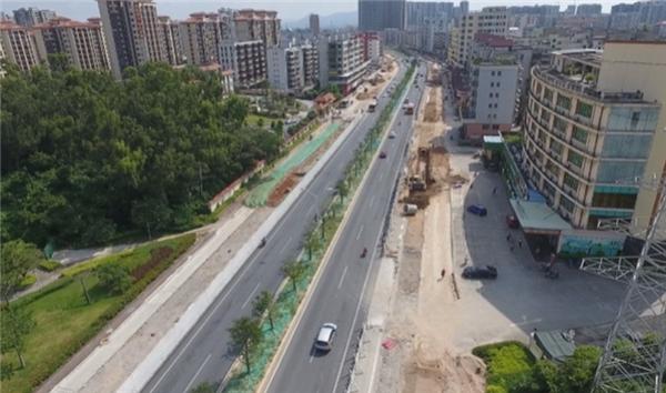 """珠海:连桥路改造工程已进入第三阶段施工 预计年底基本完工 """"class="""