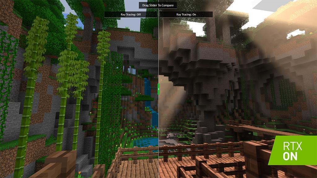 《我的世界》PC版导入光追技术 游戏体验再升级