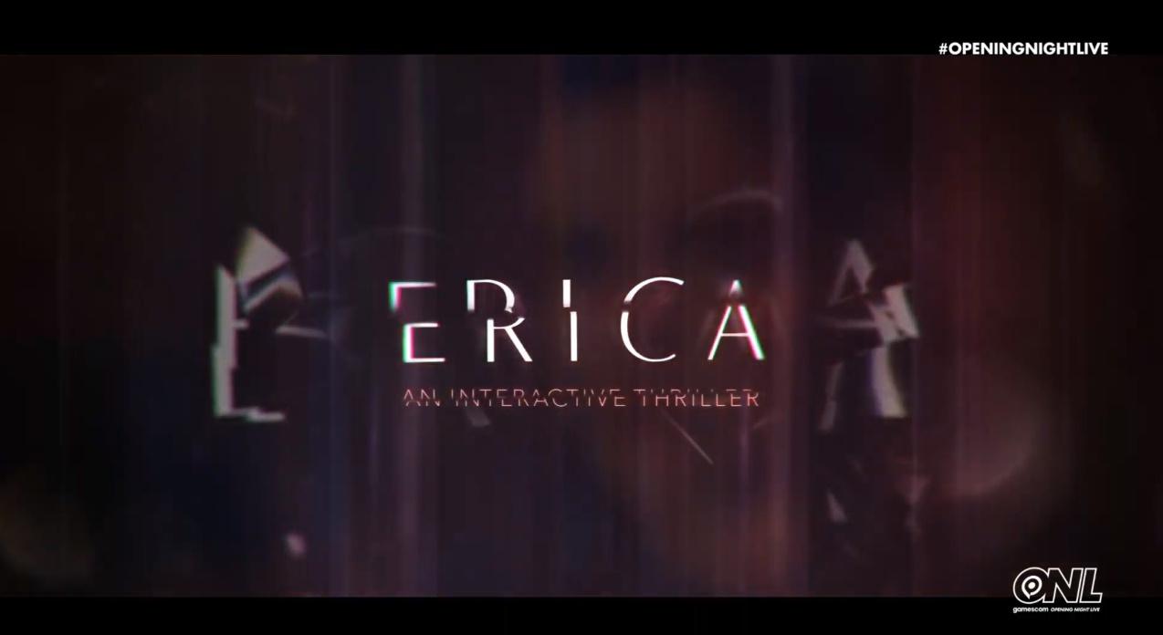 真人互动式惊悚游戏《Erica》PS4独占即日发售