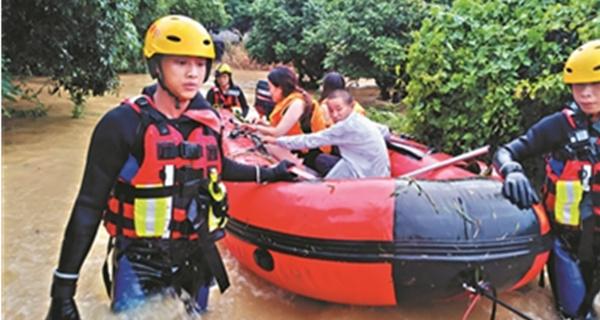 揭阳多地连日出现强降水?已救出3名被困群众