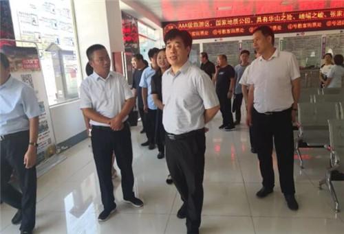 平顶山市副市长刘文海在鲁山县调