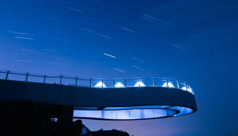 高空露营:星空下的浪漫
