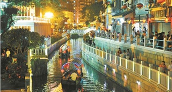 """广州:至2022年拟形成13个全国知名商圈?延长夜间服务""""class="""