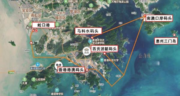 深圳东部拟开辟直通港澳航线 南澳旅游码头明年开建