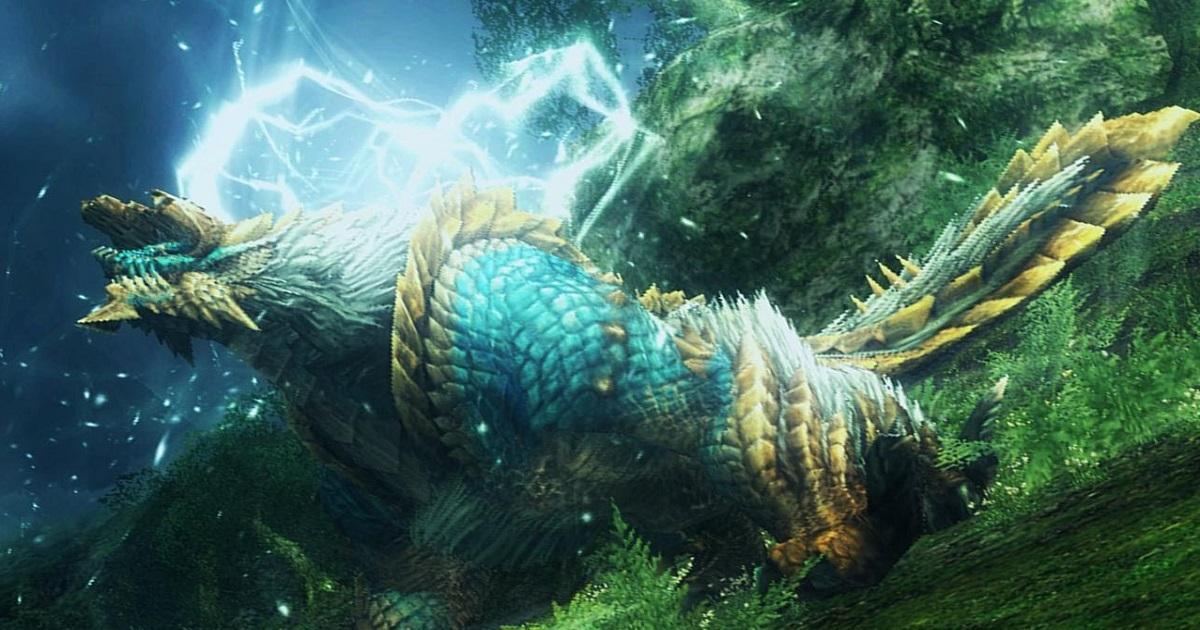 军事资讯_玩家发现铁证 《怪物猎人世界:冰原》有雷狼龙_凤凰网游戏