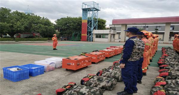 省消防全力做好台风防御工作 2509名消防员在岗值守