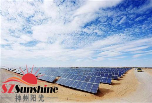 时机已经纯熟神州阳光太阳能光伏发电帮你实现财富梦想