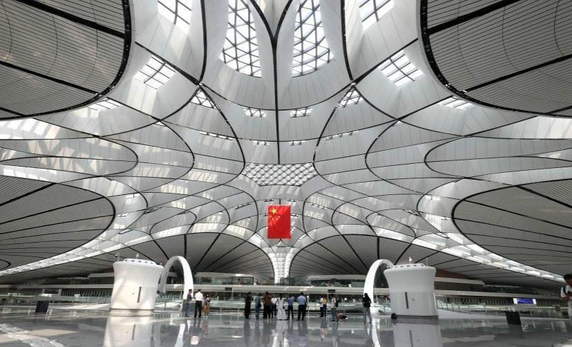 北京大興國際機場9月底正式投入運營