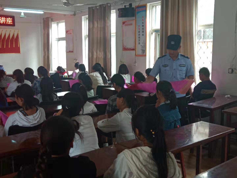 安徽砀山:成立中学生禁毒志愿者服务队 拓展禁毒教育宣传