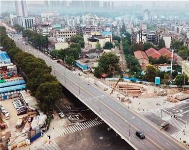建设六路与和平大道交叉口国庆节前通车