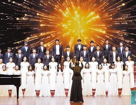 """第十三届""""百歌颂中华""""歌咏活动精品展演在穗举办"""