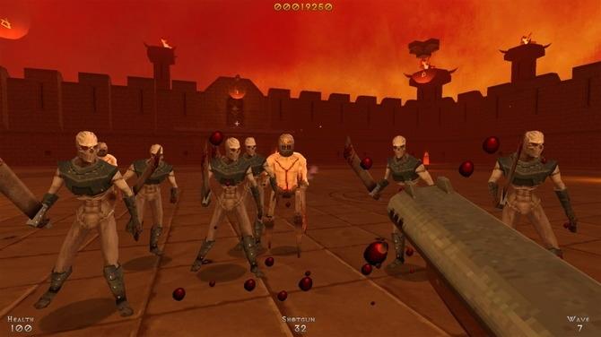 复古动作射击游戏《DemonPit》推出试玩体验版