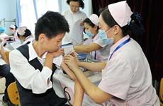 陕西开展托幼机构及中小学在校生流感疫苗接种工作