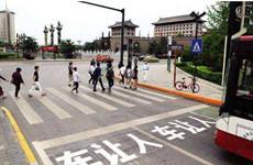 """西安发布8月份""""车不让人""""交通违法行为通报"""