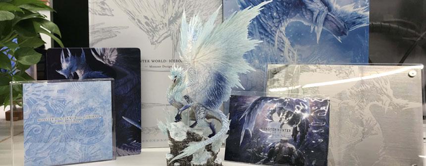 就知道玩 | 《怪物猎人世界·冰原》实体典藏版开箱