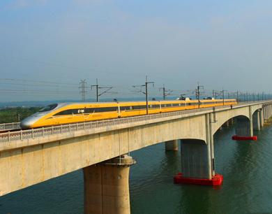 昌赣高铁进行时速380公里试跑