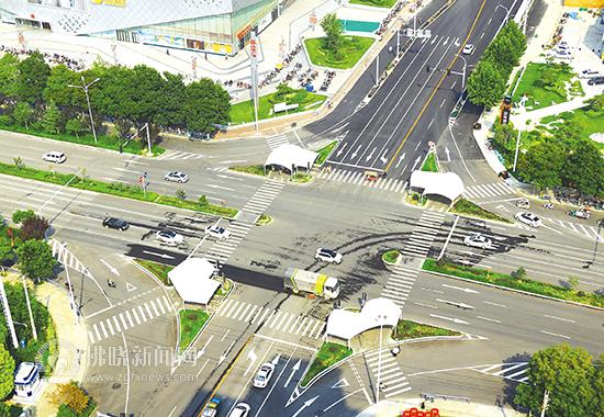 宿州对各大交叉路口综合改造 方便通行