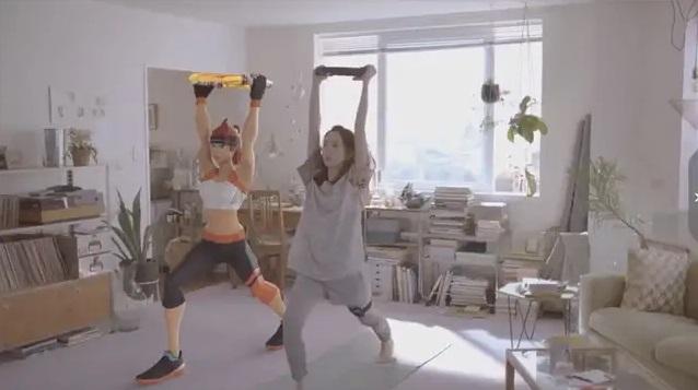 """新垣结衣出演新广告吸引你来买任天堂""""健身环"""""""