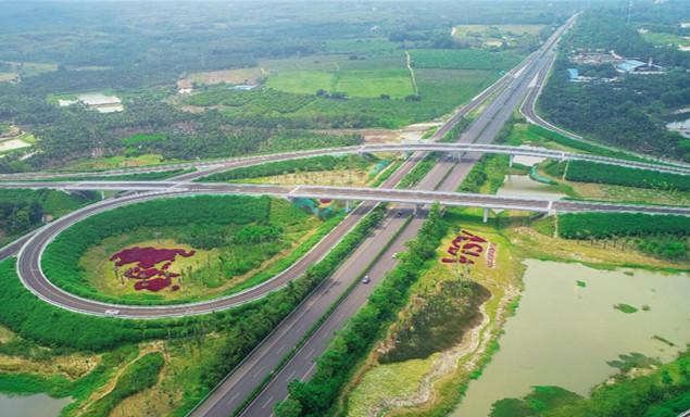 海南省沿海各市县实现高速公路闭环