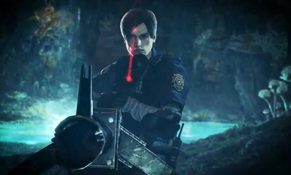 《怪物猎人:世界》冰原与《生化危机2:重制版》联动
