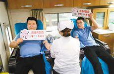 传递温暖 国庆假期西安2873名爱心人士无偿献血