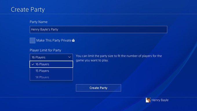索尼将更新PS4主机7.00版本系统 派对成员数提升至16人