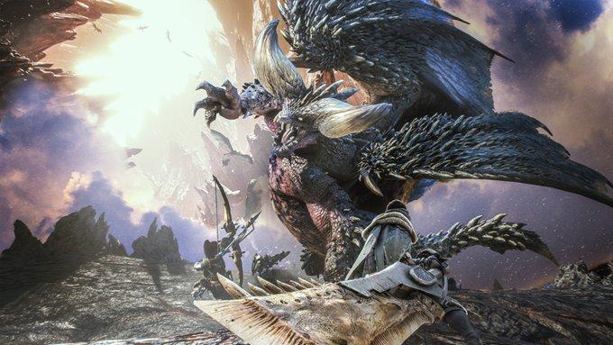 CAPCOM宣布《怪物猎人:世界》全球出货量1400万