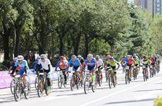 2019中国榆林首届沿黄观光路国际自行车赛举行