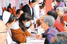 服务百姓健康 西安健康扶贫大型义诊活动在周至举行