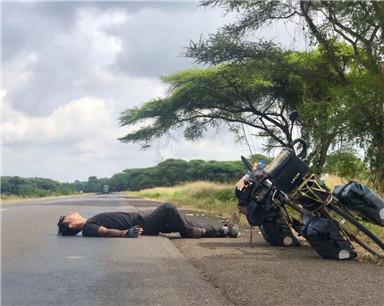 399天!18100公里!马鞍山小伙骑行穿越亚非大陆17国