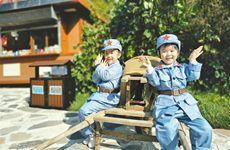 探寻红色足迹 照金景区秋季研学活动掀起高潮