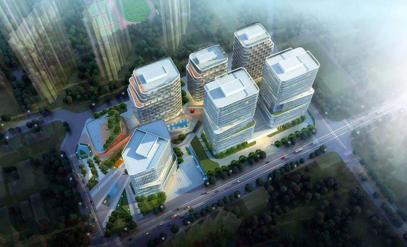 青岛科技创新园,位于南京路,台柳路,清江路与重庆南路之间,占地面积