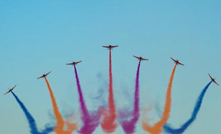 庆祝空军成立70周年航空开放活动在长春举行