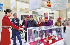 聚焦陕西省庆祝中华人民共和国成立70周年成就展