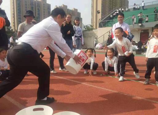 """宁波少儿体育运动会有新时尚垃圾分类比出了""""体育味"""""""