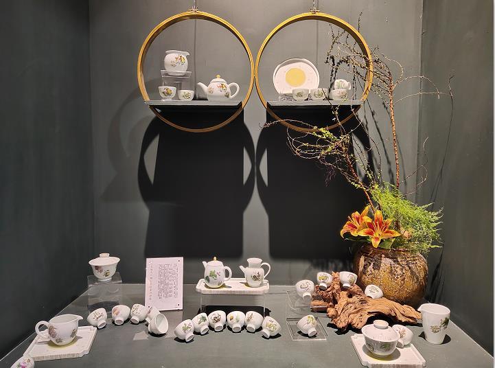 诚德轩《天长地久》茶具套组亮相瓷博会