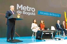西安地铁中标哥伦比亚地铁项目 合同总额逾50亿美元