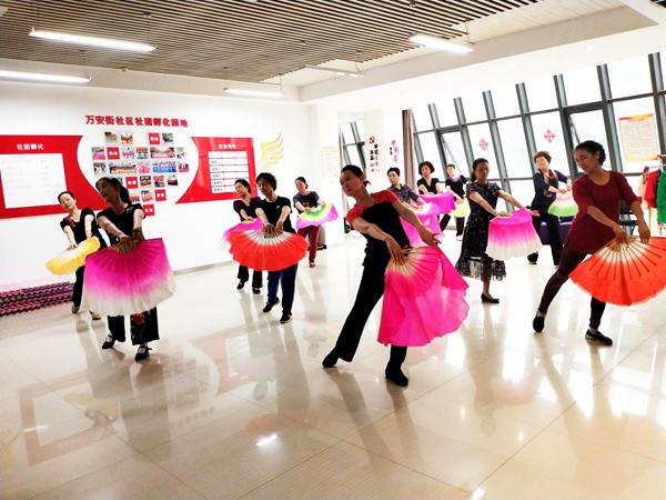 钱柜娱777手机_郑州市万安街社区:社团活动精彩纷呈 群众生活