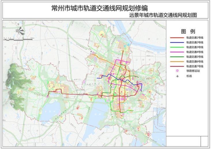 常州新一轮轨道交通规划获批复