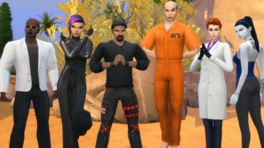 大神!超强玩家利用《模拟人生4》做出了《守望先锋》