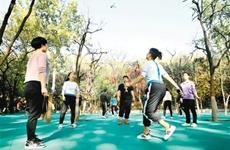 打造15分钟健身圈 西安主城区首个智慧健身园区开放