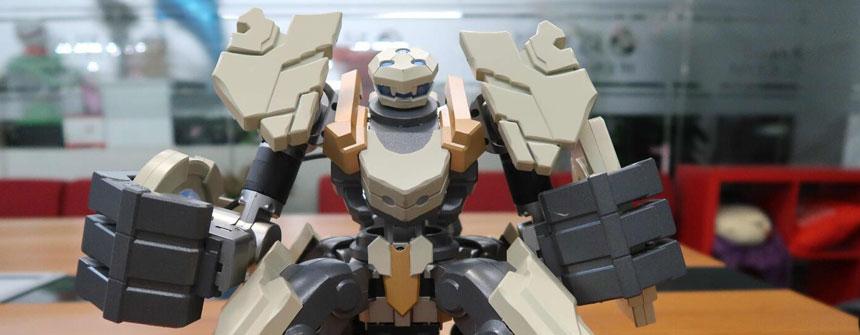 就知道玩 | GANKER EX机器人小身材大能量 迷你铁甲钢拳