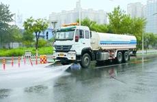 西安今冬禁止焚烧垃圾落叶 低于3℃停止道路冲洒水