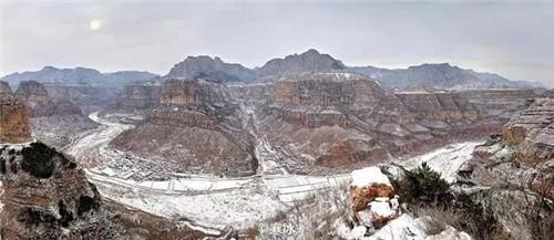 太行大峡谷一个让外国人来了也叫绝的地方
