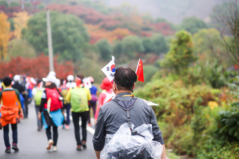 醉美溪口雪窦山,2019第六届中韩国际登山体验大会华丽启幕
