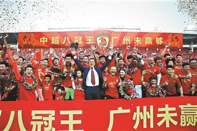 广州恒大主场凭借韦世豪,朴志洙,艾克森的三粒进球,以3比0击败上海图片